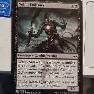 Sultai emissary magic card